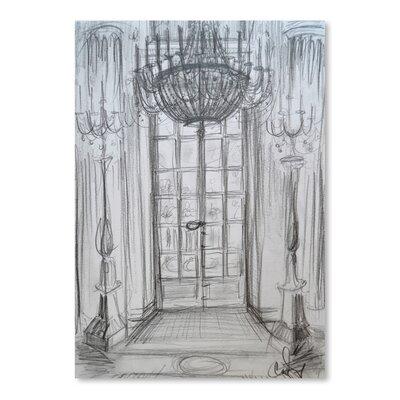 Americanflat 'Versailles Window' by Cara Francis Art Print