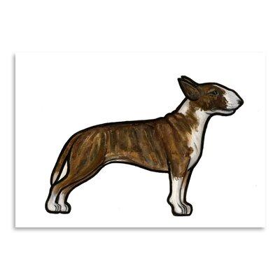 Americanflat 'English Bulldog 3' by Sally Pattrick Art Print