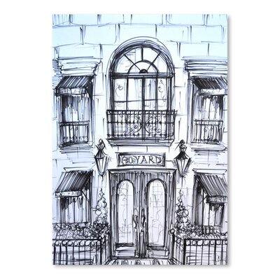 Americanflat 'Window Shopping' by Cara Francis Art Print