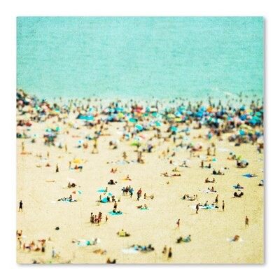 Americanflat 'Coney-Island-Beach 2' by Mina Teslaru Photographic Print