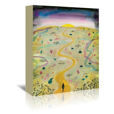 Americanflat 'Readiness' by Adrienne Vita Art Print Wrapped on Canvas