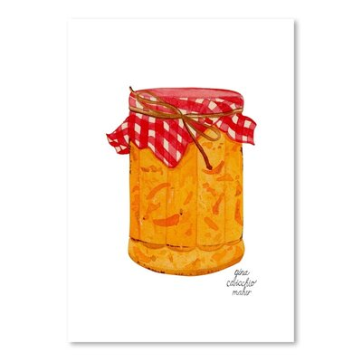Americanflat 'Marmalade' by Gina Maher Art Print