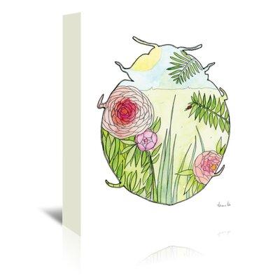Americanflat Ladybug' by Adrienne Vita Art Print on Canvas