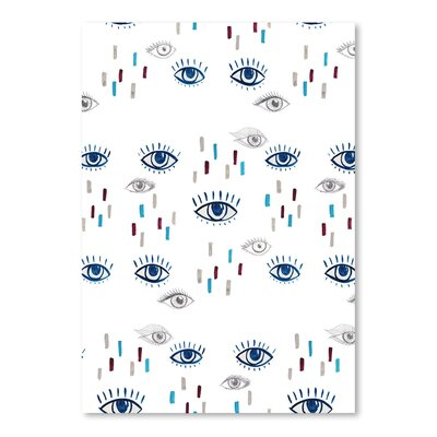 Americanflat 'Eyes' by Adrienne Vita Graphic Art