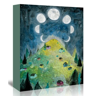 Americanflat 'Wishes' by Adrienne Vita Art Print Wrapped on Canvas