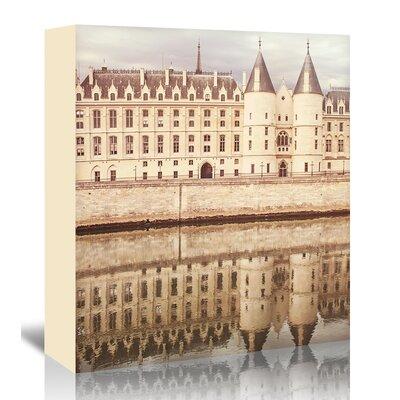 Americanflat 'Paris-Seine-3' by Mina Teslaru Photographic Print Wrapped on Canvas