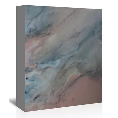 Americanflat 'Dark Grey' by Deb McNaughton Graphic Art Wrapped on Canvas