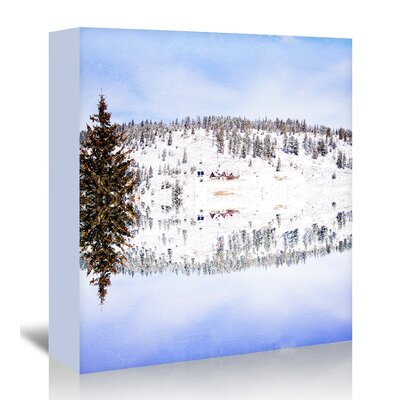 Americanflat 'Cabin-Fever' by Mina Teslaru Photographic Print Wrapped on Canvas