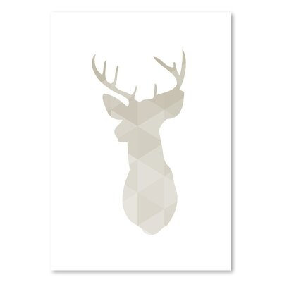 Americanflat 'Deer Up To' by Melinda Wood Graphic Art