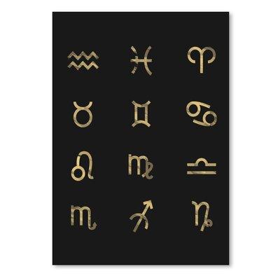 Americanflat 'Zodiac' The Glass Mountain Typography
