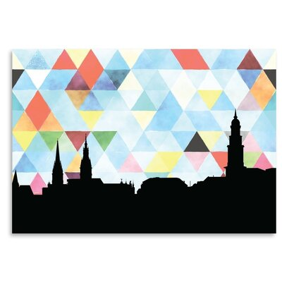 Americanflat 'Hamburg Triangle' by PaperFinch Graphic Art