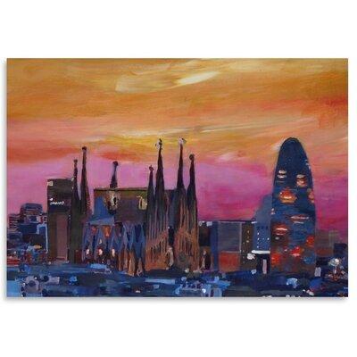 Americanflat 'Barcelona 3' by M Bleichner Art Print