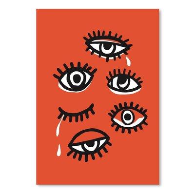 Americanflat 'Eyes_Minimal' The Glass Mountain Graphic Art