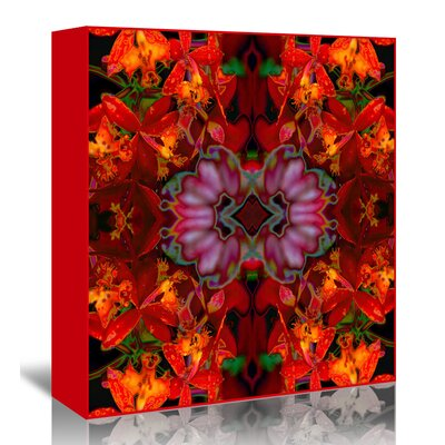 Americanflat 'Fire Orchids' by Rose Anne Colavito Graphic Art Wrapped on Canvas