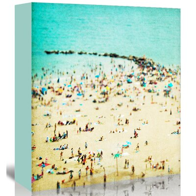 Americanflat 'Coney-Island-Beach 1' by Mina Teslaru Photographic Print Wrapped on Canvas