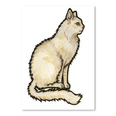 Americanflat 'Cat 1' by Sally Pattrick Art Print