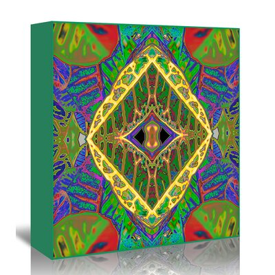Americanflat 'Croton shield2a' by Rose Anne Colavito Graphic Art Wrapped on Canvas