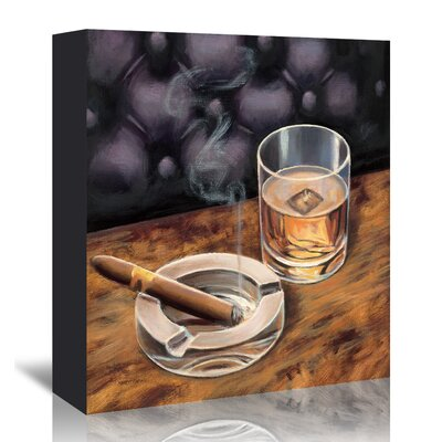 Americanflat 'Gentlemen Prefer II' by Marco Fabiano - Wild Apple Graphic Art Wrapped on Canvas