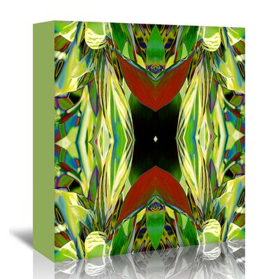 Americanflat 'Ginger Shield2' by Rose Anne Colavito Graphic Art Wrapped on Canvas