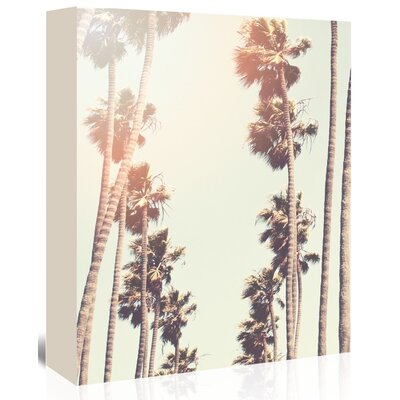 Americanflat 'Palm' by Mina Teslaru Photographic Print Wrapped on Canvas