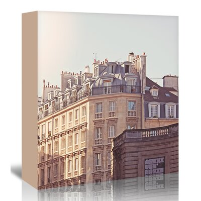 Americanflat 'Paris-Rooftops-2' by Mina Teslaru Photographic Print Wrapped on Canvas
