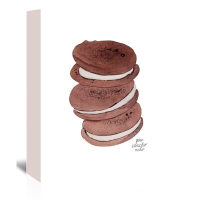 Americanflat 'Whoopie Pies' by Gina Maher Art Print Wrapped on Canvas