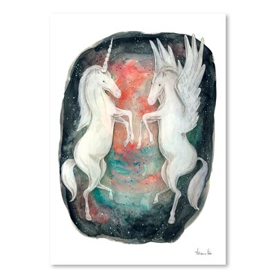 Americanflat 'Fabled' by Adrienne Vita Art Print