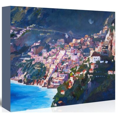 Americanflat 'Amalfi Coast I' by M Bleichner Art Print Wrapped on Canvas