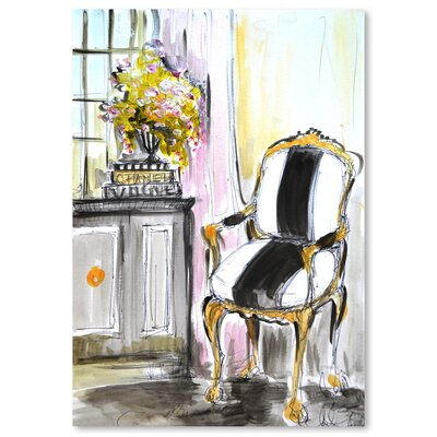 Americanflat 'La Chaise' by Cara Francis Art Print