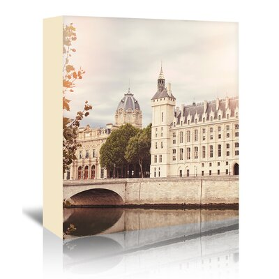 Americanflat 'Paris-Seine-2' by Mina Teslaru Photographic Print Wrapped on Canvas
