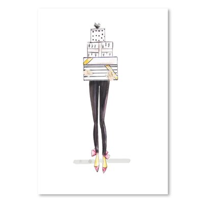 Americanflat 'Legs-Gifts 2' by Alison B Art Print