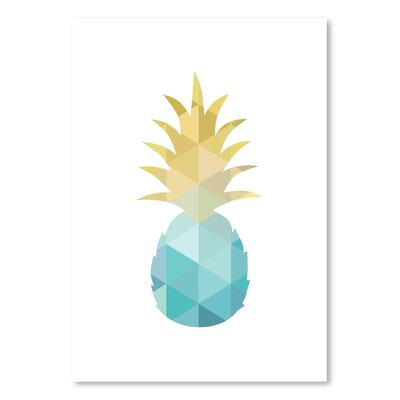 Americanflat 'Pineapple Up To' by Melinda Wood Graphic Art