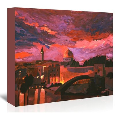 Americanflat 'Jerusalem 2' by M Bleichner Art Print Wrapped on Canvas