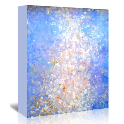 Americanflat 'AcrylicSeries' by Cara Francis Art Print Wrapped on Canvas in Blue