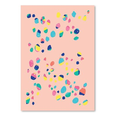 Americanflat 'Confetti' by Ashlee Rae Graphic Art
