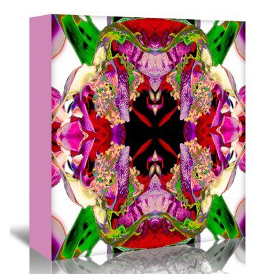 Americanflat 'Neon Rose redux' by Rose Anne Colavito Graphic Art