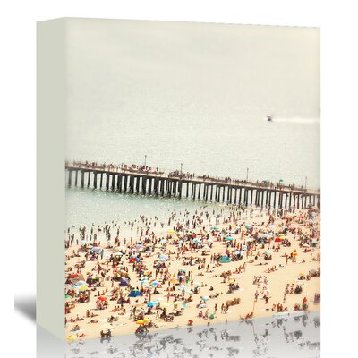 Americanflat 'Coney-Island-Summer' by Mina Teslaru Photographic Print