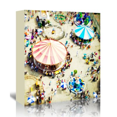 Americanflat 'Carnivale' by Mina Teslaru Photographic Print Wrapped on Canvas