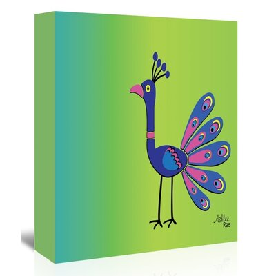 Americanflat 'Peacock' by Ashlee Rae Graphic Art Wrapped on Canvas
