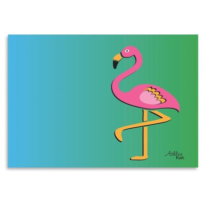 Americanflat 'Flamingo' by Ashlee Rae Graphic Art