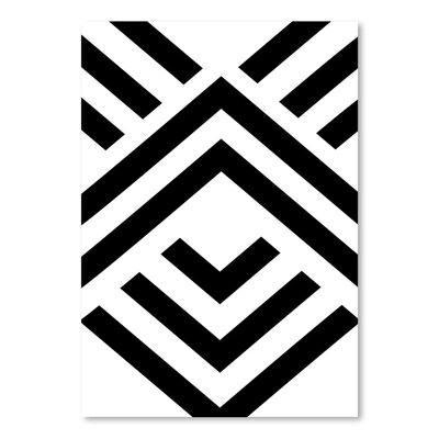 Americanflat 'Aztec Up To' by Melinda Wood Graphic Art