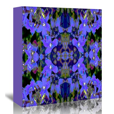 Americanflat 'Delphinium X2' by Rose Anne Colavito Graphic Art Wrapped on Canvas