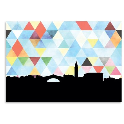 Americanflat 'Venice_Triangle' by PaperFinch Graphic Art