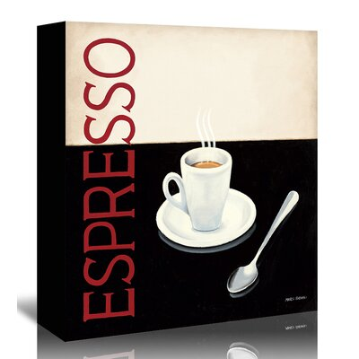 Americanflat Expresso' by Marco Fabiano Vintage Advertisement Wrapped on Canvas