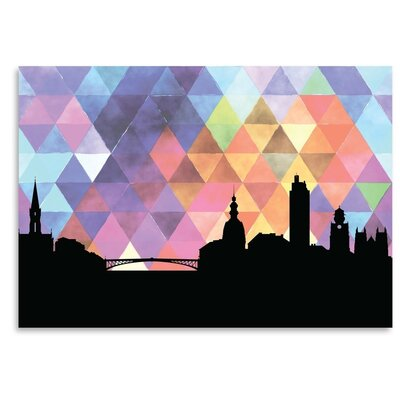 Americanflat 'Nantes Triangle' by PaperFinch Graphic Art