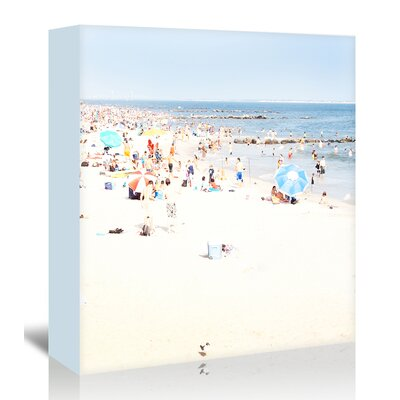 Americanflat 'Beach' by Mina Teslaru Photographic Print Wrapped on Canvas