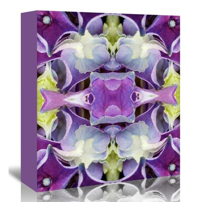 Americanflat 'Hydrangea3' by Rose Anne Colavito Graphic Art Wrapped on Canvas