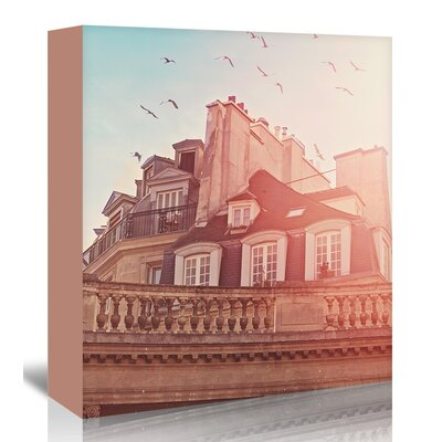 Americanflat 'Paris-Rooftops' by Mina Teslaru Photographic Print Wrapped on Canvas