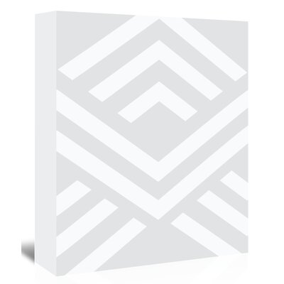 Americanflat 'Aztec Up To' by Melinda Wood Graphic Art Wrapped on Canvas