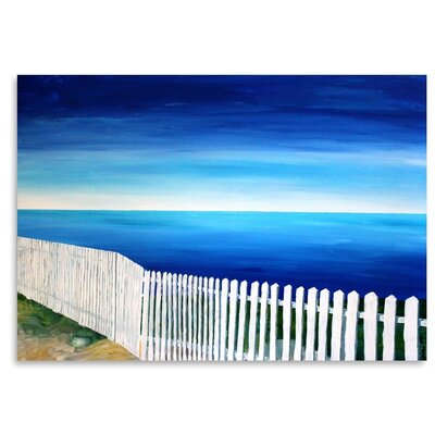 Americanflat 'San Francisco - Point Reyes' by M Bleichner Art Print